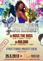 Streetforce Project meets Afro Saturday