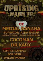 REGGAENERACE - uprising festival warm up