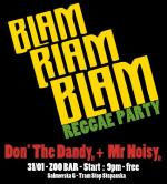 BLAM BLAM BLAM Reggae Party