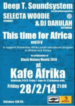 DEEP T.SOUNDSYSTEM, this time 4 AFRICA