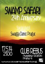 "SWAMP SAFARI ""24th Anniversary"" DANCEHALL NITE"