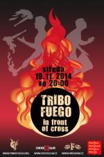 Tribo Fuego in front of Cross vol. II