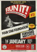 RUN IT! #11 ls. FOUR STAR FOUNDATION /AU/