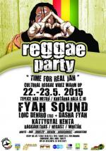 KRUŤÁRNA REGGAE PARTY TFRJ -0FFICIAL WARM UP CRV HOŘICE 11-13.6.2015