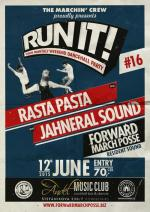 RUN IT! #16 ls. RASTA PASTA & JAHNERAL SOUND