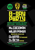 B. DAY PARTY w. COCOMAN, Wilda Panda, Ketr + Šetr...