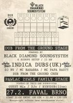 DUB FROM THE GROUND V. with INDICA DUBS (UK) & PAWLAC ZEWLS FAMILY