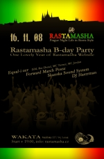 Rastamasha B-day Party