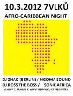 AFRO-CARRIBEAN NIGHT - DJ ROSS THE BOSS