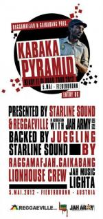 KABAKA PYRAMID presented by RAGGAMAFJAH SOUND & GAIKABANG SOUND