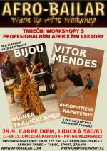 Afrobailar Warm Up Workshop